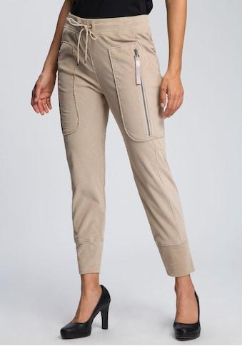 MAC Jogger Pants »Future-Pants«, Jop-Pants mit großen Reißverschluss -Taschen kaufen