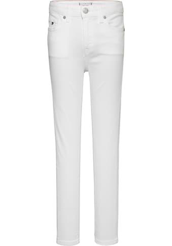 TOMMY HILFIGER Stretch-Jeans »SYLVIA SKINNY«, in schmaler Skinny-Form kaufen