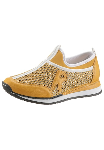Rieker Slip-On Sneaker, in glitzernder Optik kaufen