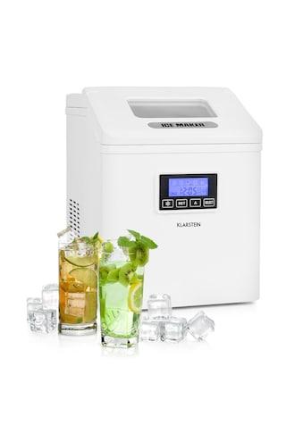 Klarstein LCD Eiswürfelmaschine Klareis 15-20kg/24h kaufen