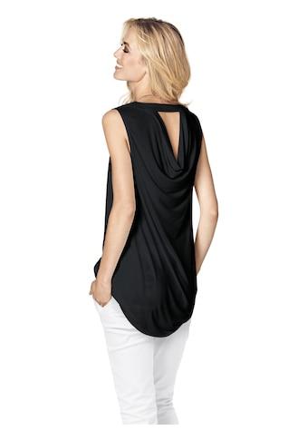 Blusenshirt mit Rückenausschnitt kaufen