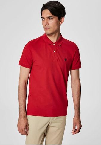 SELECTED HOMME Poloshirt »ARO EMBROIDERY POLO« kaufen