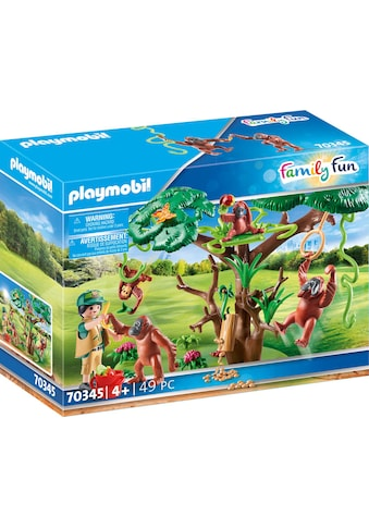 Playmobil® Konstruktions-Spielset »Orang Utans im Baum (70345), Family Fun«, (49 St.),... kaufen