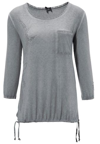 MarJo Trachtenshirt, Damen, mit Hirschmotiv aus Glitzersteinen kaufen