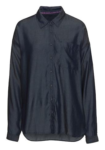 Herrlicher Jeansbluse »MALOU«, aus Denim Lyocell kaufen