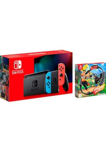 Nintendo Switch Konsolen-Set, inkl. Ring Fit Adventure kaufen