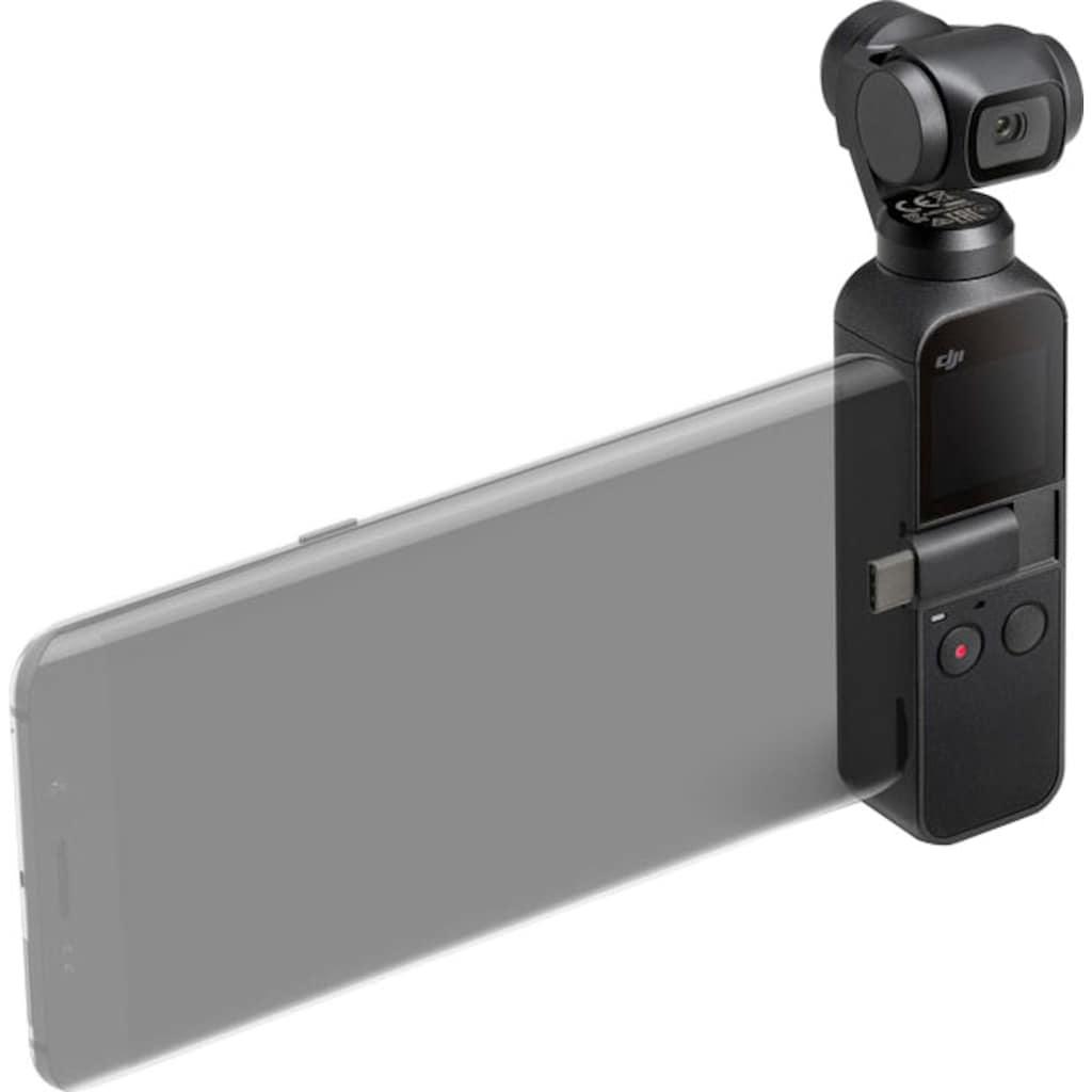 dji Camcorder »Osmo Pocket & wasserfestes Gehäuse (P04)«, 4K Ultra HD