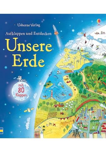 Buch »Aufklappen und Entdecken: Unsere Erde / Emily Bone, Marianna Oklejak« kaufen