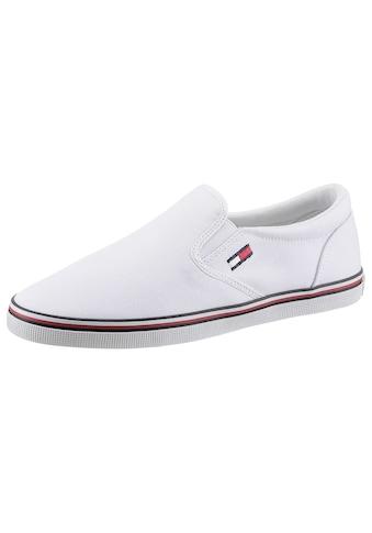 TOMMY JEANS Slip-On Sneaker »ESSENTIAL SLIP ON SNEAKER«, mit Logostickerei kaufen