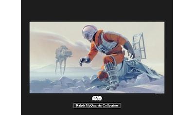 Komar Poster »Star Wars Classic RMQ Hoth Battle Pilot«, Star Wars kaufen