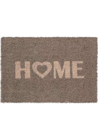 Andiamo Fußmatte »Kokos Home Heart«, rechteckig, 15 mm Höhe, Fussabstreifer,... kaufen