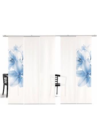 emotion textiles Schiebegardine »Lilie HA«, HxB: 260x60, inkl. Befestigungszubehör kaufen