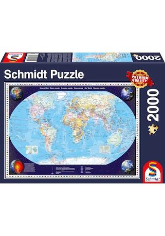 """Schmidt Spiele Puzzle """"Unsere Welt"""" kaufen"""