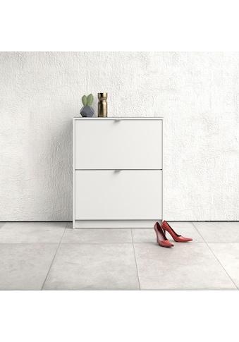 Home affaire Schuhschrank »Shoes«, mit zwei Klappen, in verschiedenen Farbvarianten... kaufen