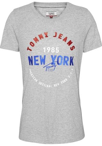 TOMMY JEANS Rundhalsshirt »TJW CIRCLE NEW YORK TEE« kaufen