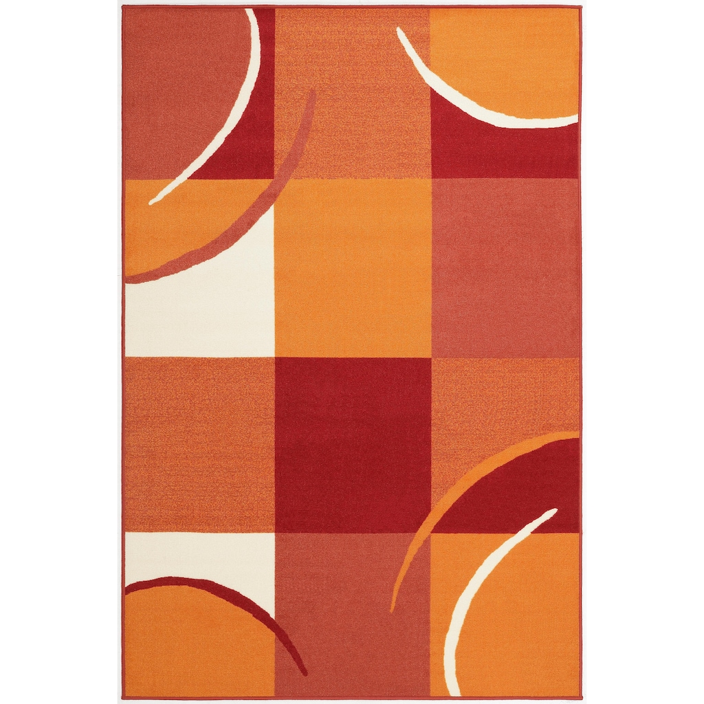 THEKO Teppich »Marco«, rechteckig, 6 mm Höhe, Kurzflor, Kundenliebling mit 4,5 Sterne Bewertung!, Wohnzimmer