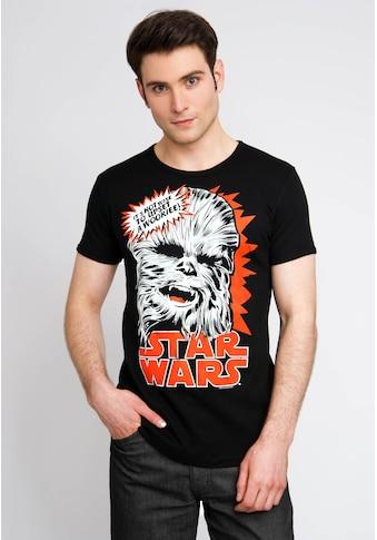 LOGOSHIRT T-Shirt mit coolem Wookie-Print kaufen