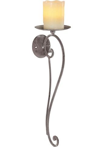 Ambiente Haus Kerzenhalter, Höhe 49 cm, Kerzen-Wandleuchter, Kerzenhalter, Kerzenleuchter hängend, Wanddeko kaufen