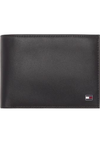 Tommy Hilfiger Geldbörse »ETON CC FLAP AND COIN POCKET«, aus weichem Leder kaufen