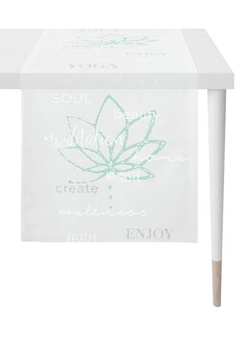 APELT Tischläufer »Enjoy - Loft Style«, (1 St.), Ausbrenner kaufen