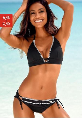 Sunseeker Triangel-Bikini-Top »Dainty«, mit Häkelkante kaufen