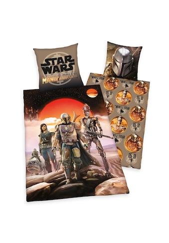 Star Wars Wendebettwäsche »Star Wars Mandalorian, Baumwoll-Renforcé« kaufen