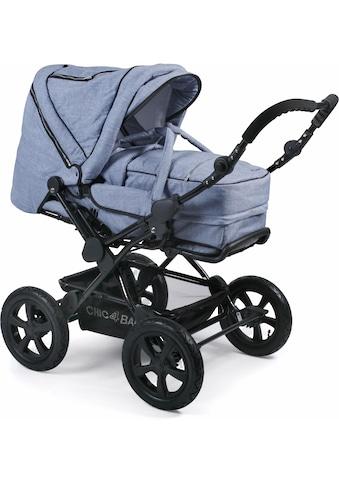 CHIC4BABY Kombi-Kinderwagen »Viva, hellblau«, 15 kg, mit Lufträdern kaufen