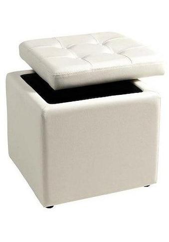 Home affaire Sitzwürfel, mit gepolstertem Deckel kaufen