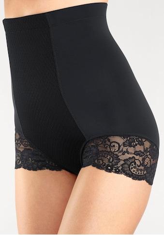 LASCANA Taillenshaper, mit hochwertiger Spitze am Bein kaufen