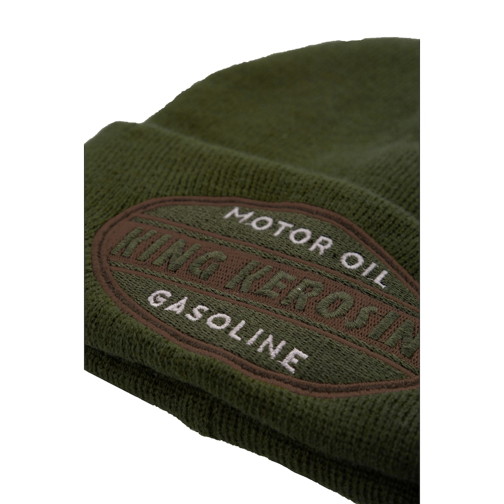 KingKerosin Strickmütze »Gasoline«