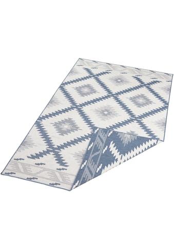 bougari Teppich »Malibu«, rechteckig, 5 mm Höhe, In- und Outdoor geeignet, Wendeteppich, Wohnzimmer kaufen