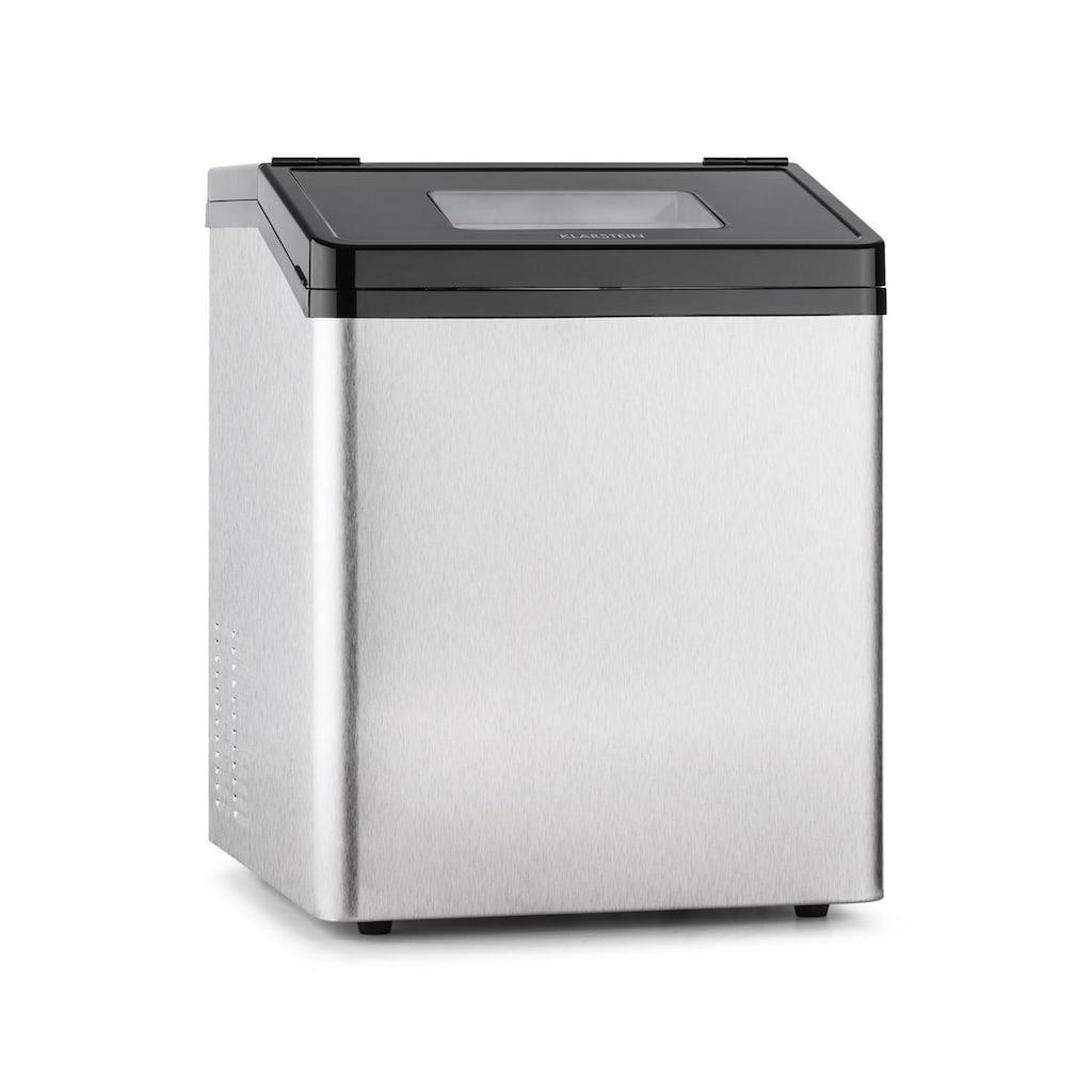 Klarstein Eiswürfelmaschine Ice Maker Eiswürfelbereiter 450W 30 kg/Tag »Powericer«
