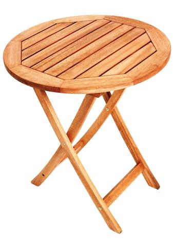 MERXX Gartentisch »Klapptisch«, Durchmesser 80 cm kaufen