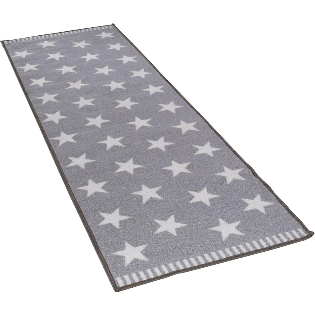 Andiamo Läufer »Sternenhimmel«, rechteckig, 5 mm Höhe, Motiv Sterne