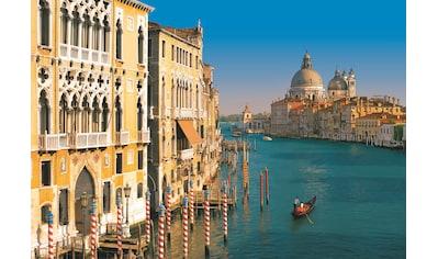 Komar Fototapete »Venezia«, bedruckt-Wald-geblümt, ausgezeichnet lichtbeständig kaufen