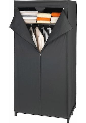 WENKO Kleiderschrank »Deep Black«, Maße (B x H x T): 75 x 160 x 50 cm kaufen