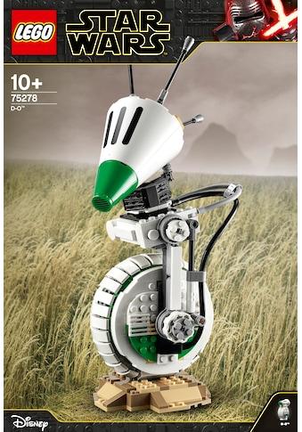 """LEGO® Konstruktionsspielsteine """"D - O™ (75278), LEGO® Star Wars™"""", Kunststoff, (519 - tlg.) kaufen"""