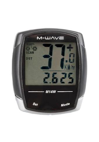 M-WAVE Fahrradcomputer »M14W« kaufen