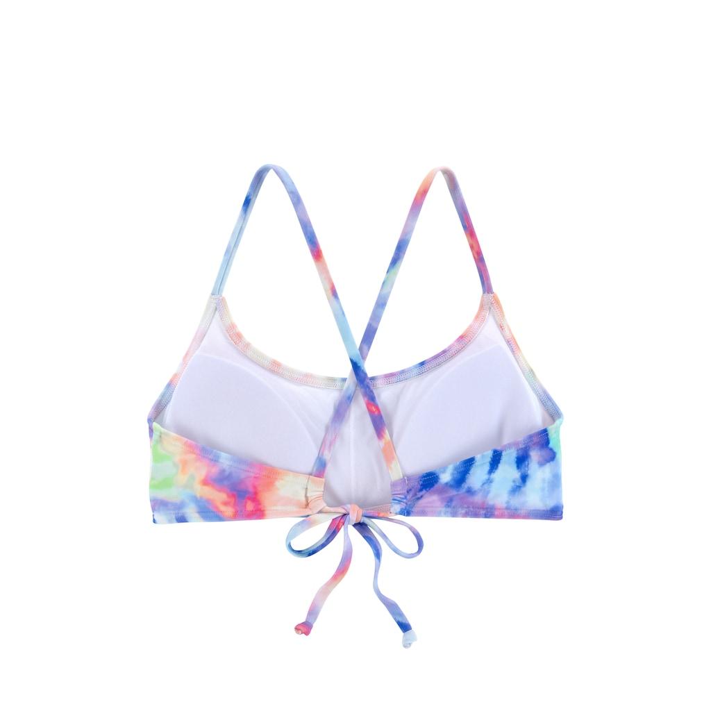 KangaROOS Bustier-Bikini, im Batik-Design