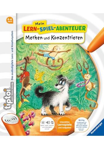 Buch »tiptoi® Merken und Konzentrieren / Susanne Kopp, Franziska Harvey« kaufen
