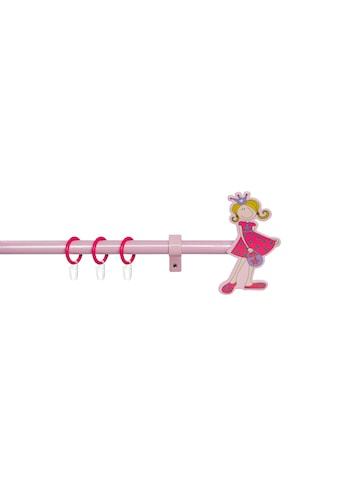 Good Life Gardinenstange »Prinzessin Leonie«, 1 läufig-läufig, ausziehbar, pink-rosé kaufen
