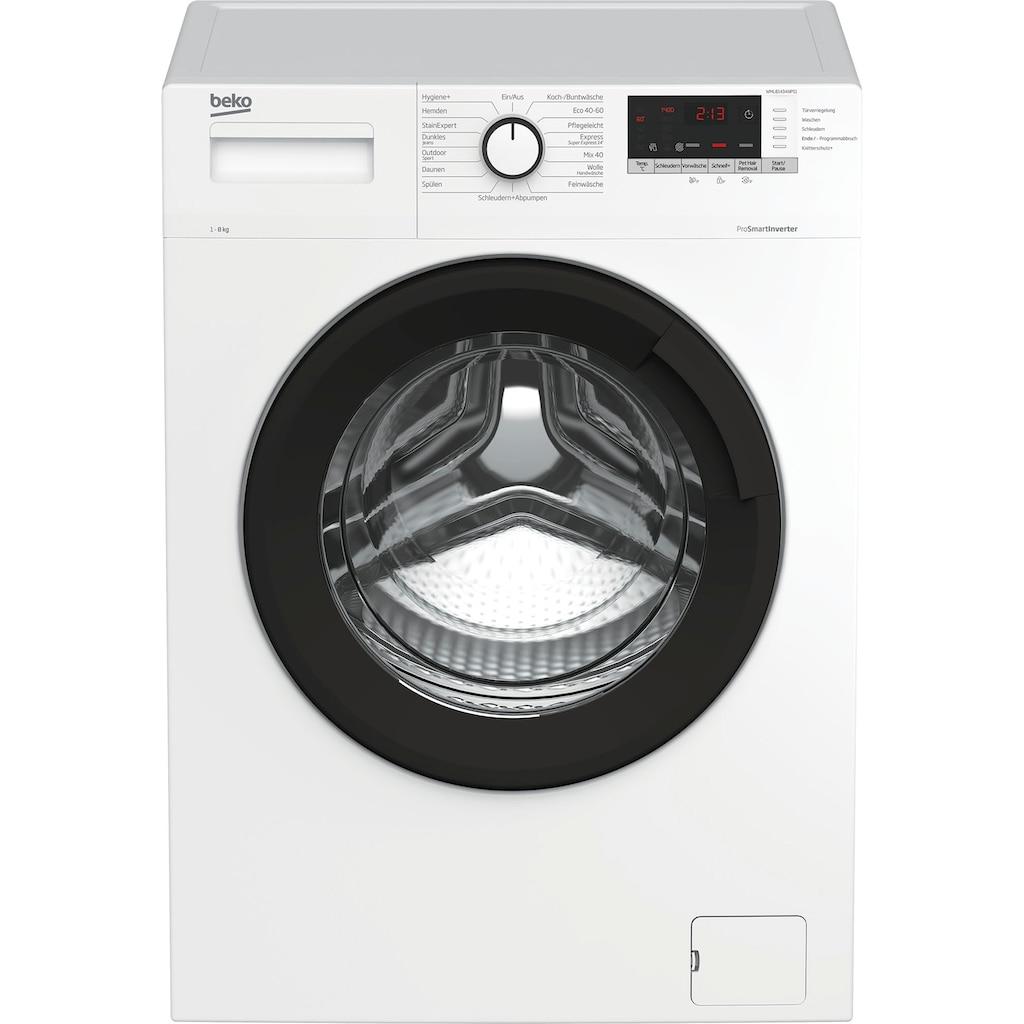 BEKO Waschmaschine »WML81434NPS1«, WML81434NPS1