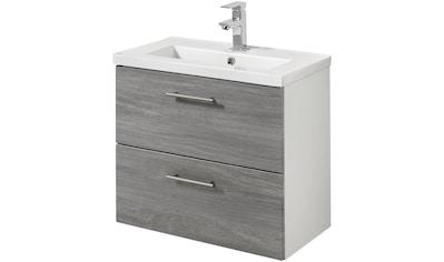 WELLTIME Waschtisch »Trento«, Waschtisch SlimLine, Breite 60 cm, Tiefe 36 cm, (2 - tlg.) kaufen