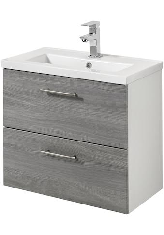 welltime Waschtisch »Trento«, Breite 60 cm, Tiefe 36 cm, SlimLine Badmöbel kaufen