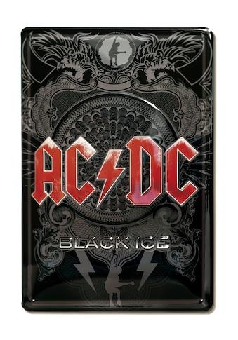 LOGOSHIRT Blechschild mit coolem AC/DC-Motiv kaufen