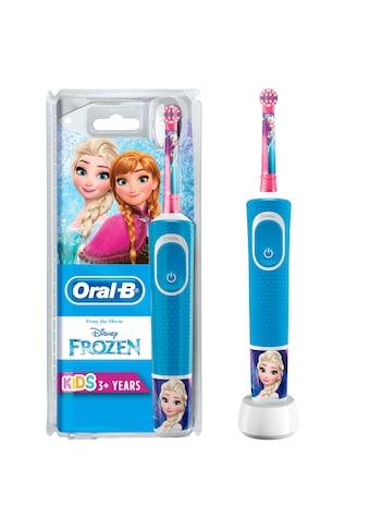 Oral B Elektrische Kinderzahnbürste »Frozen Elektrische«, 1 St. Aufsteckbürsten kaufen
