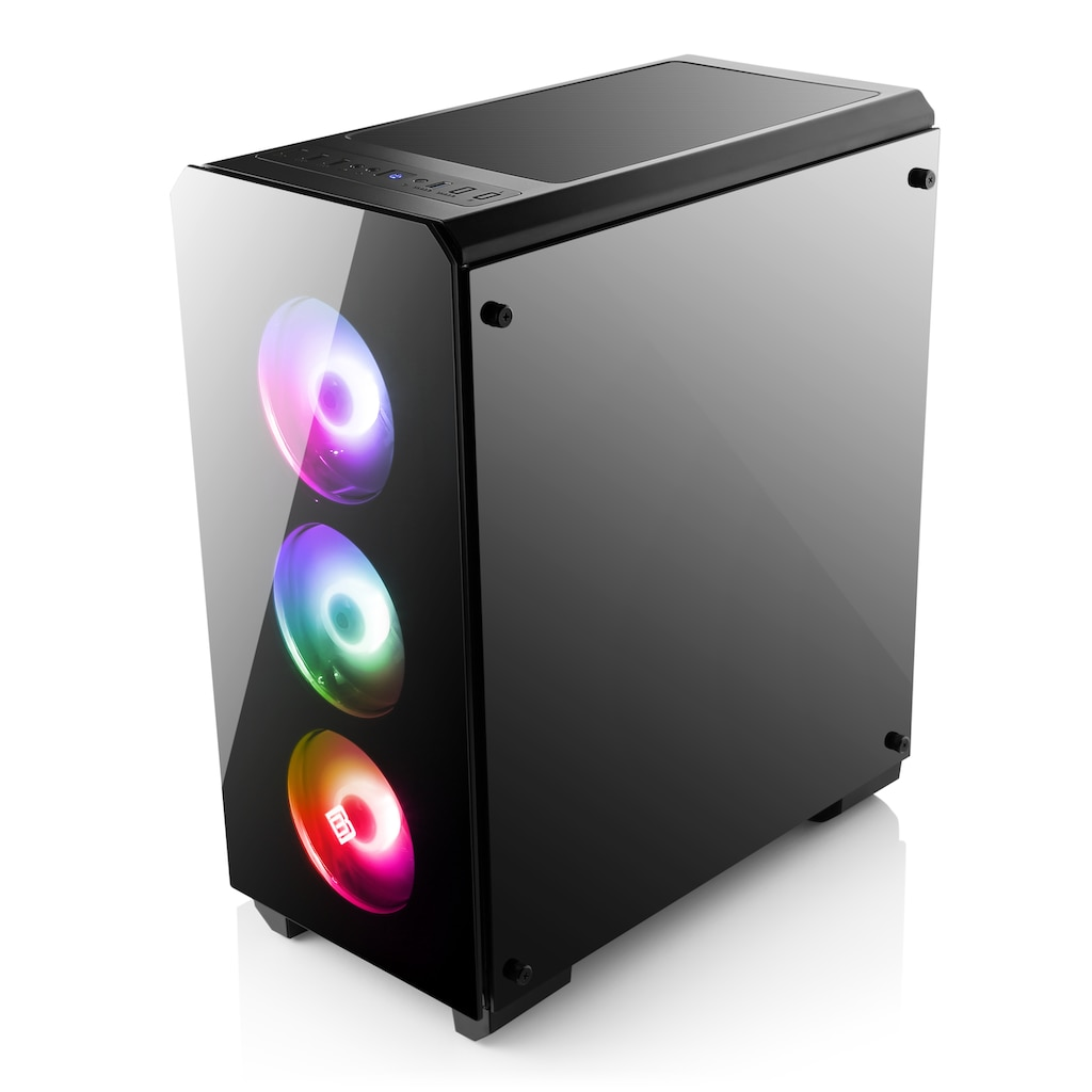 CSL Gaming-PC »Levitas T8118 Windows 10 Home«, AMD Ryzen 3 3200G | Vega 8 | 16 GB RAM | SSD