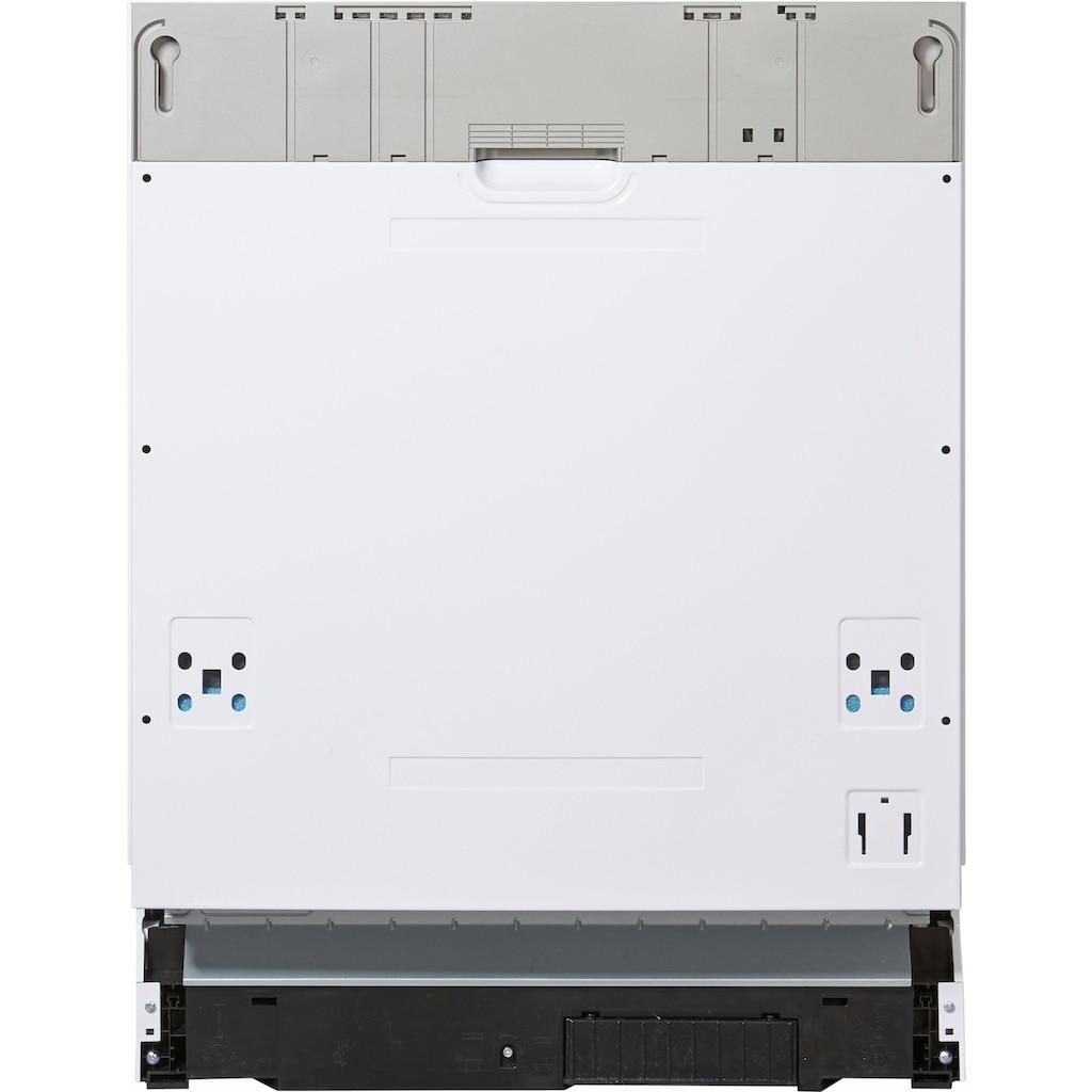 Amica vollintegrierbarer Geschirrspüler »EGSP 14663 V«, EGSP 14663 V, 11 l, 14 Maßgedecke, Energiesparfunktion ECO