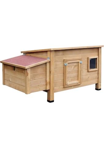 dobar Hühnerstall »Hertha«, BxTxH: 146x76x82 cm, mit Legebox kaufen