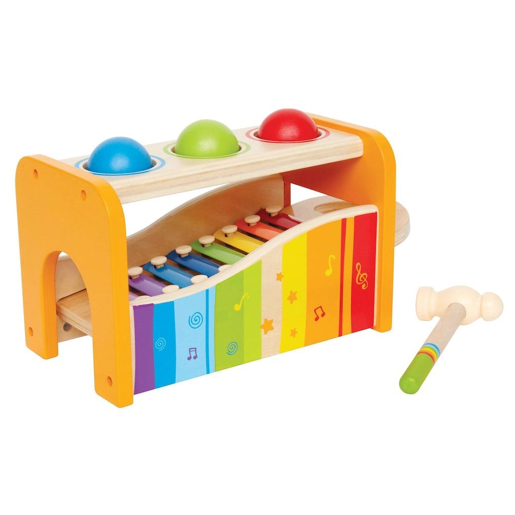 Hape Spielzeug-Musikinstrument »Xylophon«, Xylophon und Hammerspiel